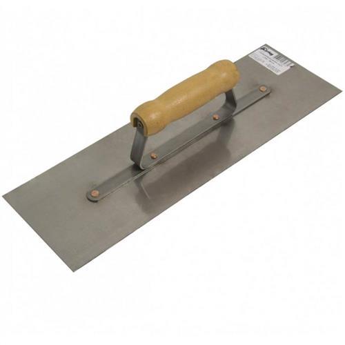 Desempenadeira de Aço Lisa 12x25,6cm - 60701 - CORTAG
