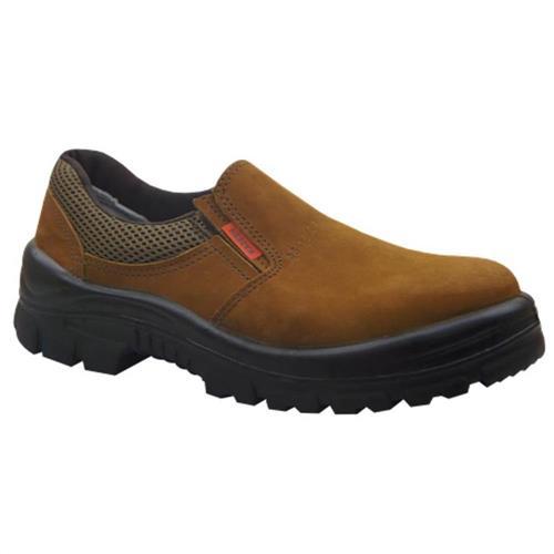 Sapato Nobuck Elástico Castor Tamanho 43 - 44201PP - KADESH