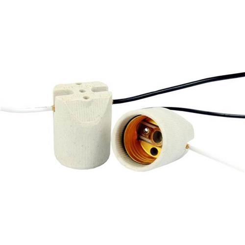 Porta Lâmpada Para Luminária E-27 - 4A 250V Fio de 15cm - 7511 - GERMER