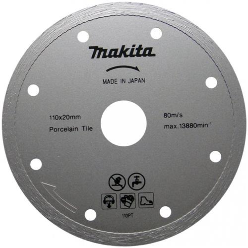Disco Diamantado Para Porcelanato 110x20mm - B22919 - MAKITA