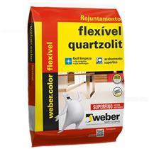 Rejunte Weber Color Flexivel 1Kg Branco - 0107000000015FD - QUARTZOLIT