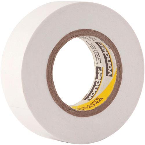 Fita Isolante Branca 19mm x 10 Mts - 11.37.191.021 - VONDER