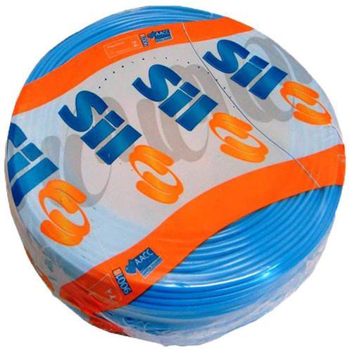 Cabo Flexível 750V 2.50mm Azul Rolo Com 100 Metros - 3018AZ - SIL