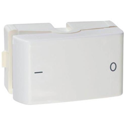 Módulo Interruptor Bipolar Simples Lunare 10A 250V 1M Branco - PRM45151 - SCHNEIDER