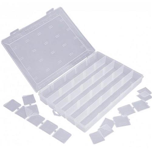 Caixa Organizadora Multiuso 33 x 24 x 4.9cm - 121- SÃO BERNARDO