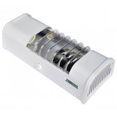 Luminária Compacta 1xE27 Chapa Branca - 12038 - TASCHIBRA