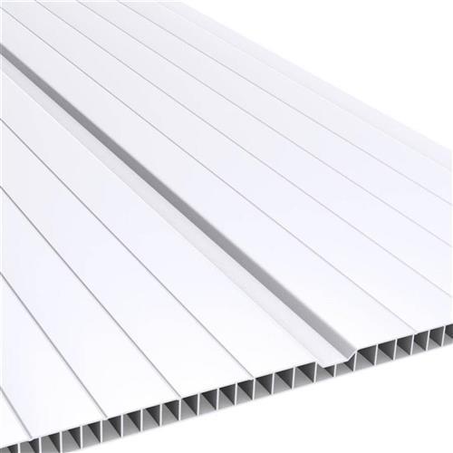 Forro PVC 7mm 20cm x 3m (0,6m²) Branco - 2081.1 - PLASBIL
