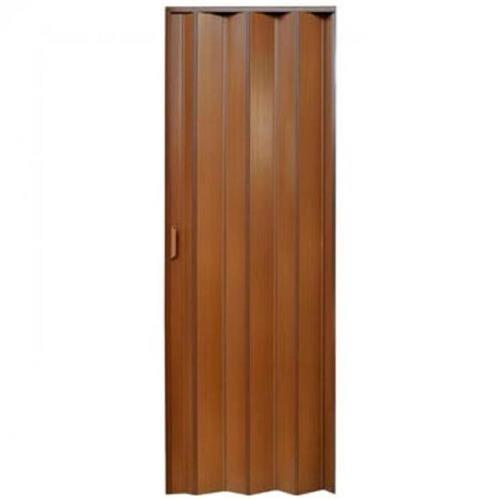 Porta Sanfonada PVC 2.10x90 Mogno - PLASBIL