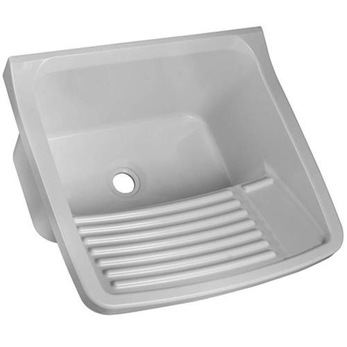 Tanque plástico pequeno cinza   - TQO/CZA - ASTRA