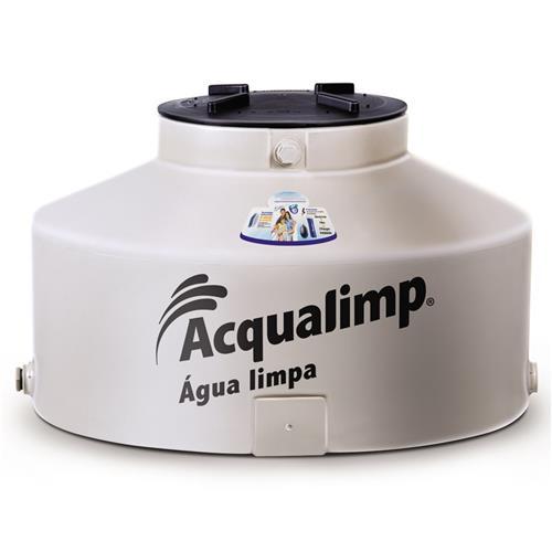 Caixa D' Água Limpa 2500 Litros Com Boia + Filtro  - AQUALIMP