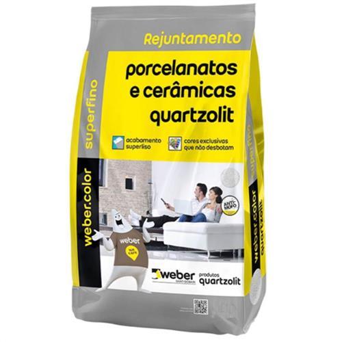 Rejunte Weber Color Porcelanato Onix 1Kg - 0110.00070.0015 - QUARTZOLIT
