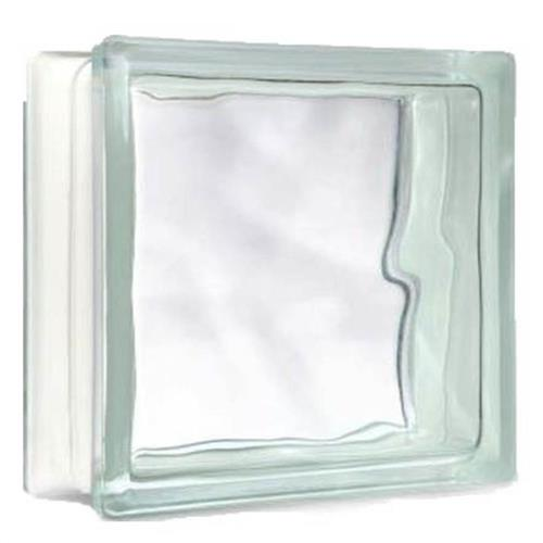 Bloco de Vidro Incolor 20x20cm - 7899201700016 - W.COLORTIL