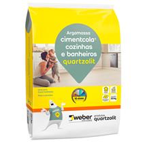 Argamassa Cimentcola Cozinha e Banheiro 20kg - 0118000010020PL - QUARTZOLIT