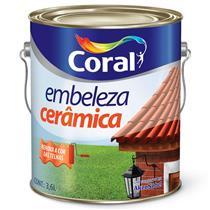 Tinta Embeleza Cerâmica 3,6 Litros - CORAL