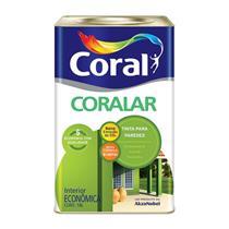 Tinta Acrílica Coralar Branco Neve 18 Litros - CORAL
