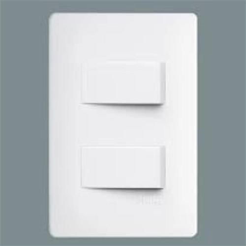 Interruptor 2 Paralelo com Placa - 2304 - FAME