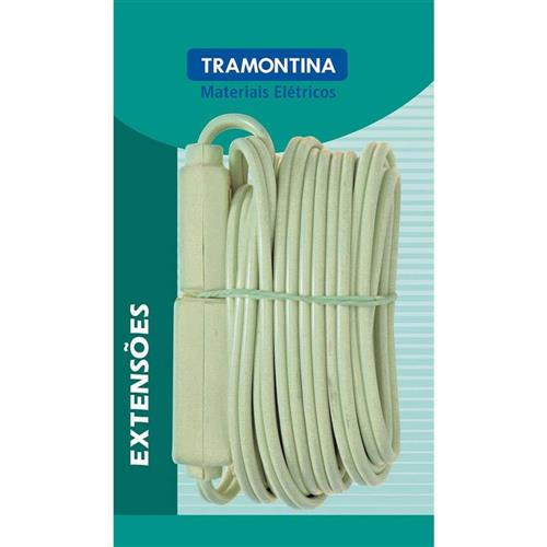 Extensão Fio Paralelo Verde 5m - 57410971 - TRAMONTINA