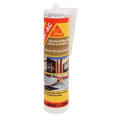 Silicone Sikasil AC Uso Geral 300ml - 71418 - SIKA