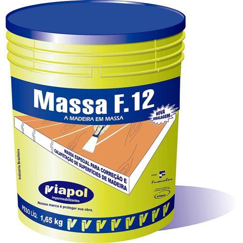 Massa Acrilica F-12 1.65 Kg Marfim - 2329 - FUSECOLOR