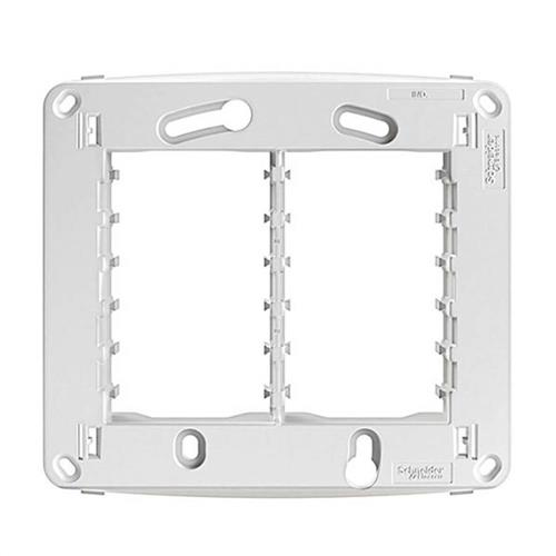 Suporte 4x4 para 6 Módulos Branco - S71020324 - SCHNEIDER