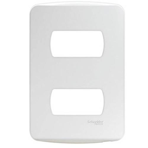 Placa 4x2 2 Postos Branca - S730121004 - SCHNEIDER