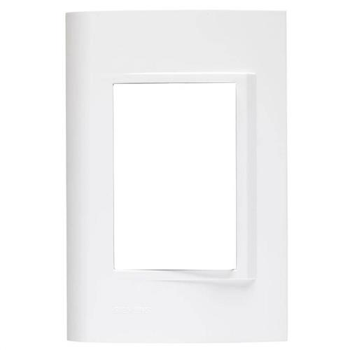 Placa 4x2 3 Postos Branca - S730103004 - SCHNEIDER