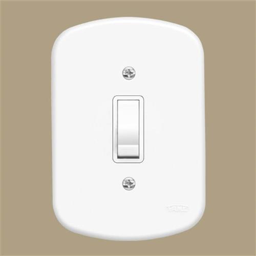 Interruptor Simples 10A 250V Blanc - 0560 - FAME