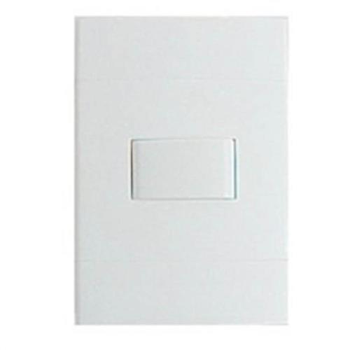 Conjunto Interruptor Simples 10A 250V Branco - S71310104 - SCHNEIDER