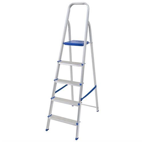 Escada Alumínio 5 Degraus - 0051 - MOR