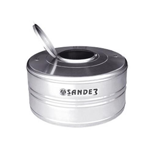 Caixa D´Água de Inox 1000 Litros Com Tampa Compacta Modelo AC - SANDER
