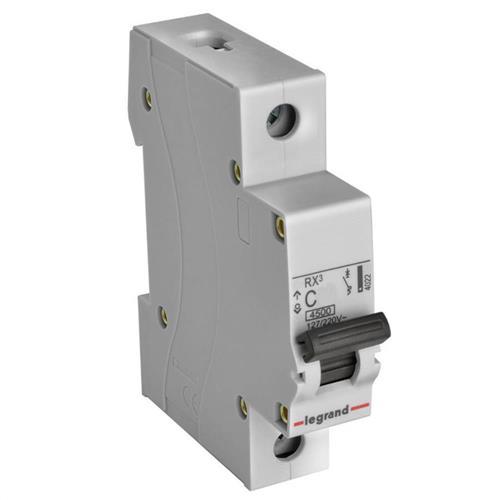 Disjuntor Unipolar Curva B DIN Rx3 16A - 402217 - PIAL