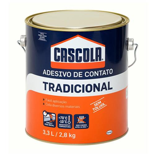 Cascola Tradicional Sem Toluol 2,8kg - 1406652 - ALBA QUIMICA