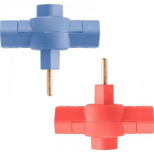 Plugue T 2P 10A 250V NBR14136 Várias Cores - 57420/970 - TRAMONTINA