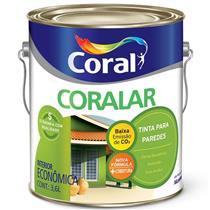 Tinta Acrílica Coralar Palha 3,6 Litros - CORAL