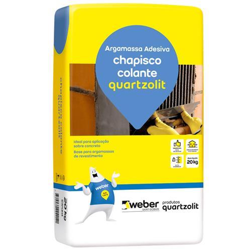 Chapisco Colante 20KG - QUARTZOLIT