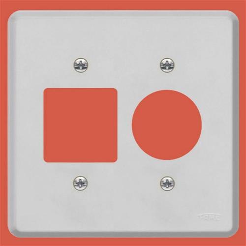 Placa Espelho 4x4 F25 Série Gris - 0239 - FAME