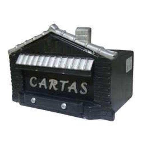 Caixa de Correio Casinha Preta - CS01023 - JLK