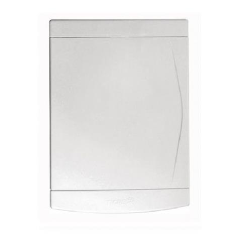Quadro de Distribuição Embutir para 12/16 Disjuntores Sem Barramento Porta Branca - 33.04.699.5 - TIGRE