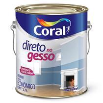 Tinta Acrílica Standard Direto no Gesso Branco 3.6 Litros - 106900101 - CORAL