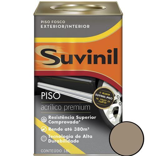 Tinta Acrílico Premium para Cimentos e Pisos 18 Litros Concreto - 53419109 - SUVINIL