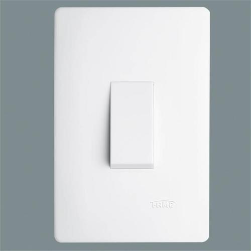 Interruptor Simples 10A 250V Vertical Habitat - 2093 - FAME