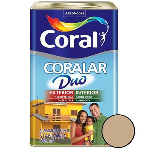Tinta Coralar Fosco Camurça 18 Litros - CORAL