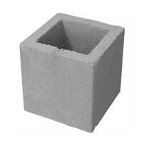 Meio Bloco de Concreto Vedação - 14x19x19 - Bimpavi
