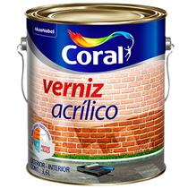 Verniz Acrílico Incolor 3,6 Litros - 5202452 - CORAL