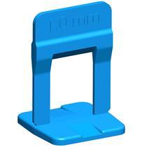 Espaçador Para Nivelamento Slim 1mm 100 Peças Azul - 61.534 - CORTAG