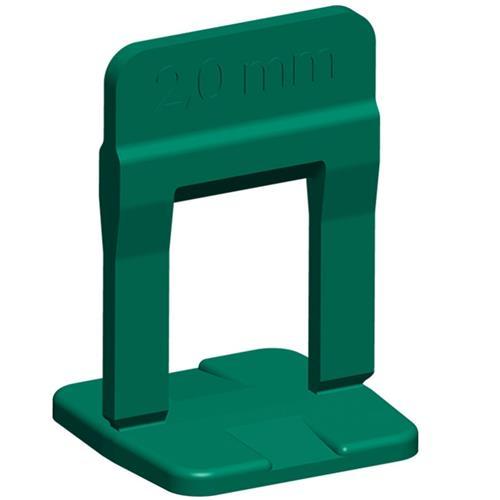 Espaçador Para Nivelamento Slim Verde 2mm 100 Peças - 61.536 - CORTAG