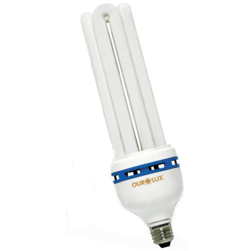 Lâmpada Eletrônica 4U 30W 127V Amarela - 04550 - OUROLUX