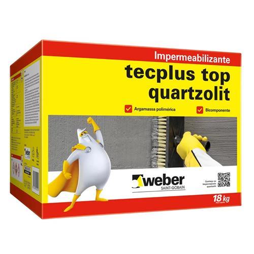 Impermeabilizante Tecplus Top Conjunto 18 Kg - 33223.09.34.051 - QUARTZOLIT