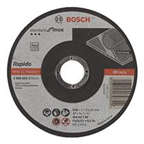 Disco Corte para Inox 125MM Grão 60 - 2608.603.171-000 - BOSCH