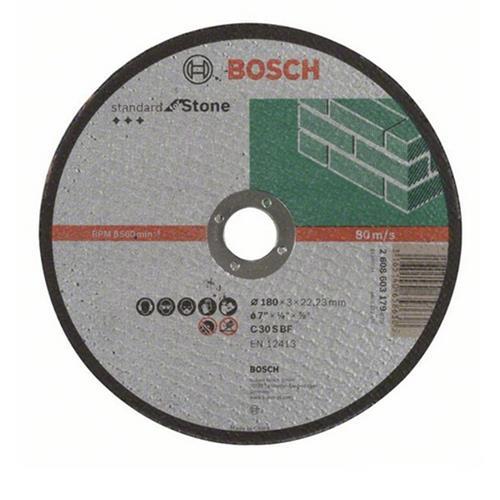 Disco Corte para Pedra 180MM Grão 30 - 2608.603.179-000 - BOSCH
